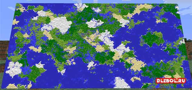 Большая карта крафт