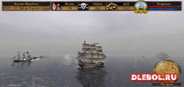 Buccaneer The Pursuit of Infamy список лучших игр про пиратов