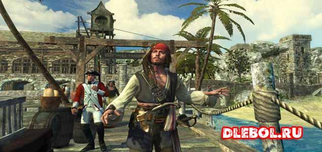 Pirates of the Caribbean список игр про пиратов