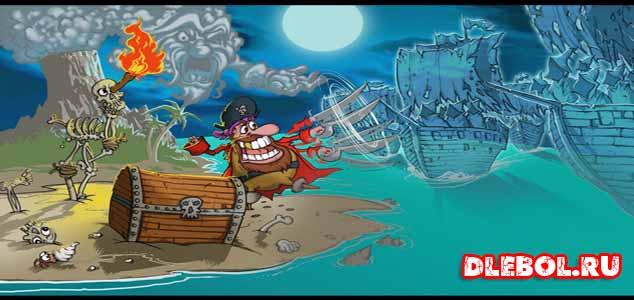 Woody Two Legs игра про пиратов