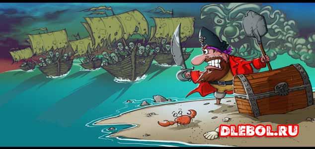 Woody Two Legs список лучших игр про пиратов