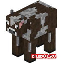 Добыть кожу из коровы
