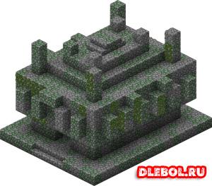 Каменный храм Minecraft