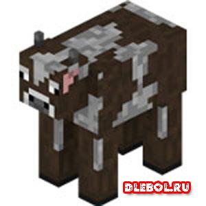 Корова майнкрафт