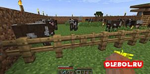 Забор в игре майнкрафт