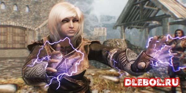 Атака при помощи заклинаний и магическогооружия Воин Маг