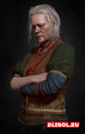 Жена барона в ведьмаке 3